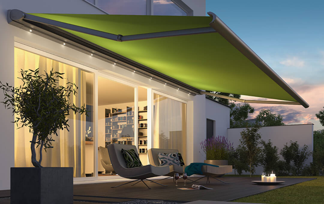 Weinor for the Ultimate experience in Folding arm awnings